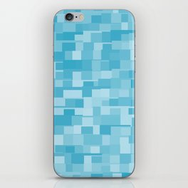 abstract square mosaic background iPhone Skin