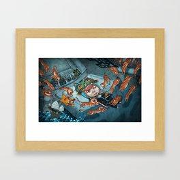 Losing Culture Framed Art Print