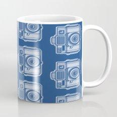 I Still Shoot Film Holga Logo - Reversed Blue Mug