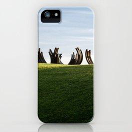 Metal Ribs iPhone Case
