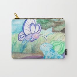 Butterfree And Bulba-saur Carry-All Pouch