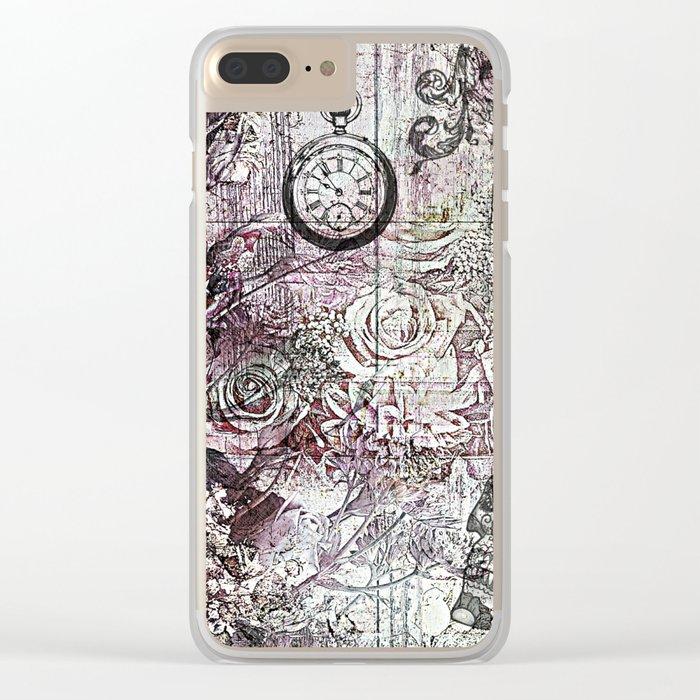 Memento Mori Clear iPhone Case