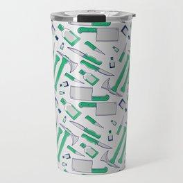 Murder pattern Green Travel Mug