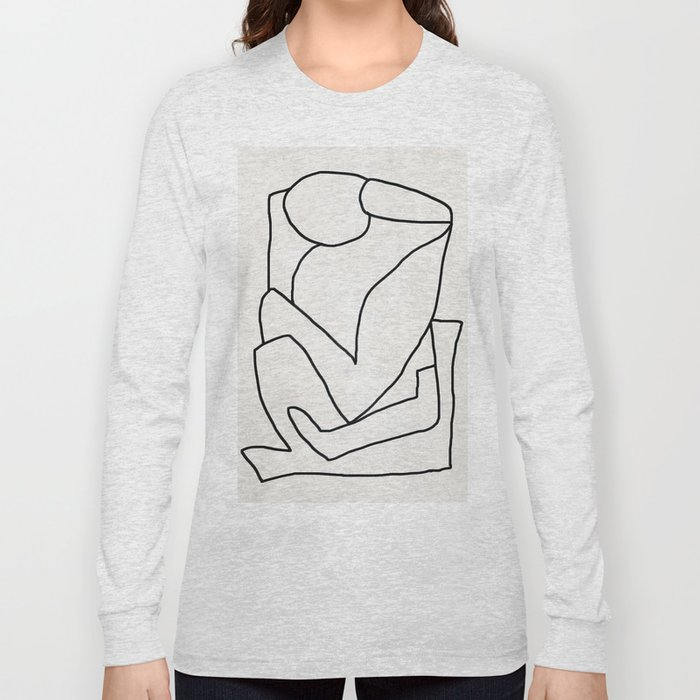 Abstract line art 2 Long Sleeve T-shirt