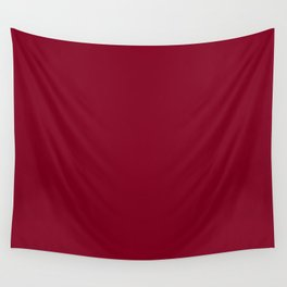 Solid Color Series - Burgundy Red Wall Tapestry