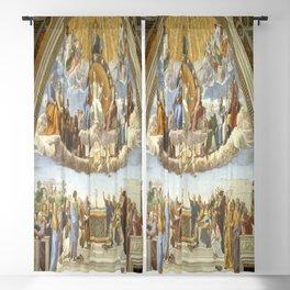 Raphael's Disputation of the Holy Sacrament Blackout Curtain