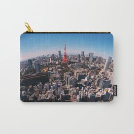 Tokyo Skyline Carry-All Pouch