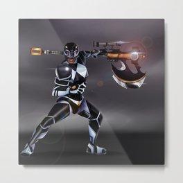 Black Ranger Metal Print