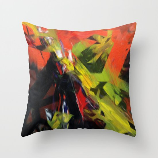 Chaoscop 44 Throw Pillow