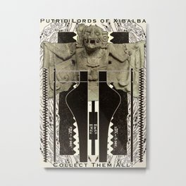 Putrid Lords of Xibalba Metal Print
