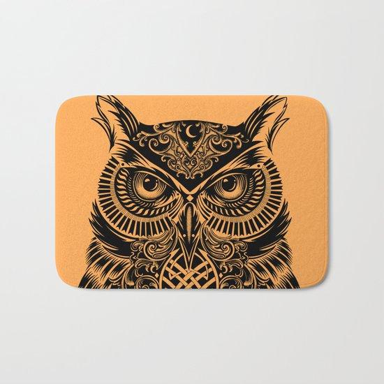 Warrior Owl 2 Bath Mat