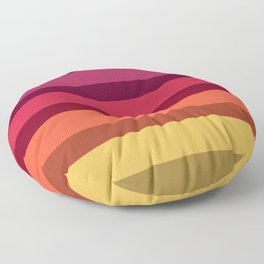 Accordion Fold Series Style A Floor Pillow