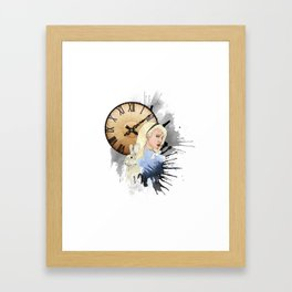 Tardy Framed Art Print