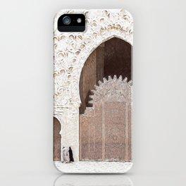 Hassan II Oil Paint iPhone Case