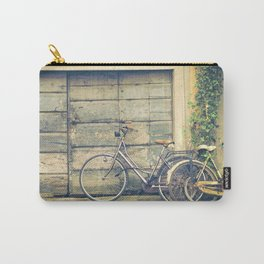 bikes in lucca  Tuscany Italy Carry-All Pouch