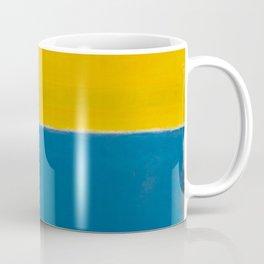 Untitled (Yellow and Blue) by Mark Rothko HD Coffee Mug
