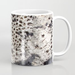 Watercolor Rock, Coral Fragments 01, Bonaire, Dutch West Indies Coffee Mug