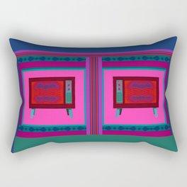 White Noise Rectangular Pillow