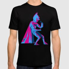 The Dark Knight Rocks Mens Fitted Tee Black SMALL