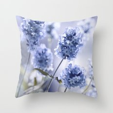 Lavender Blue 87 Throw Pillow