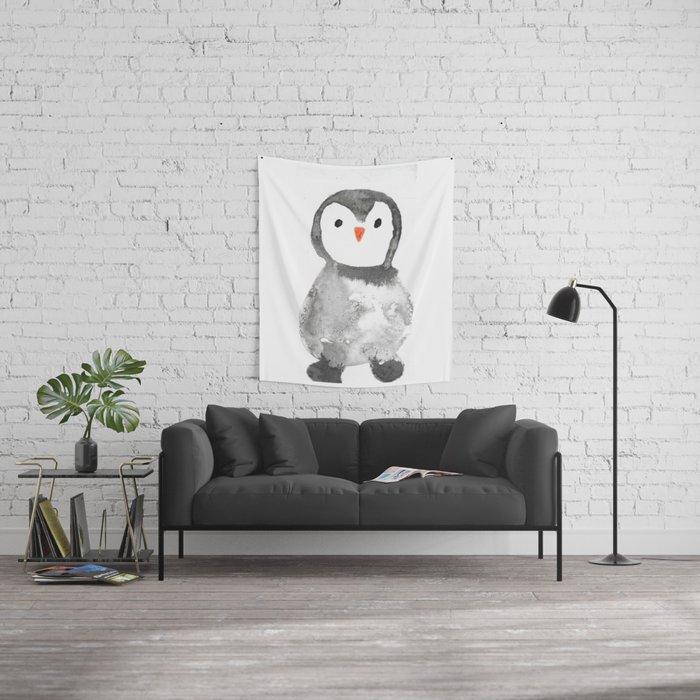 Mr. Penguin Wall Tapestry