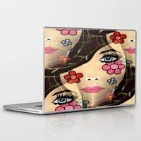 blossom Laptop & iPad Skins featuring Blossom by Sartoris ART