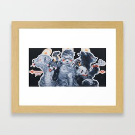 Cub Cuddlin' Framed Art Print