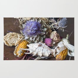 FLORAL STILL LIFE - Autumn Feeling Rug
