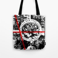 concert Tote Bags featuring Concert by emeget