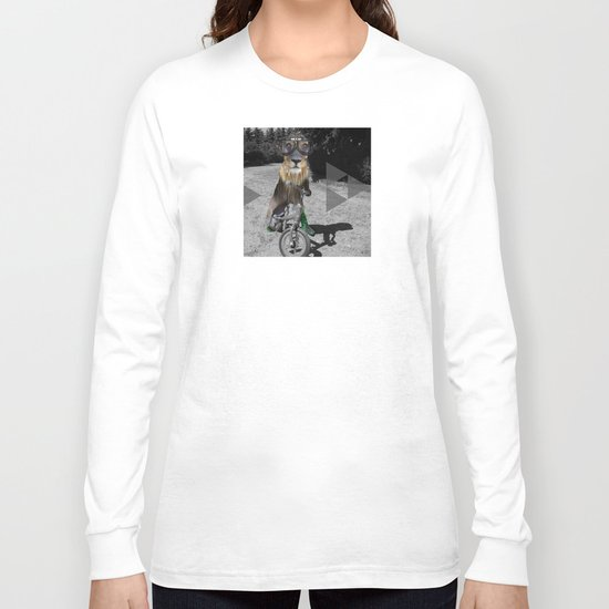 LaufRad Löwen Kind Collage Long Sleeve T-shirt