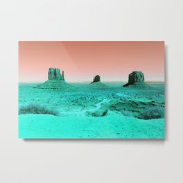 Monuments to Aliens Metal Print