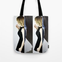 levi Tote Bags featuring Cally by Levi Miller by Levi Miller