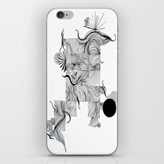 Abstract Line Drawing iPhone & iPod Skin