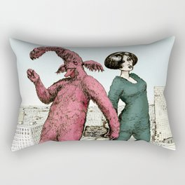 Dancing on the roof Rectangular Pillow