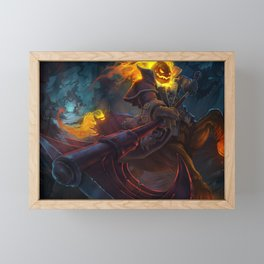 Headless Hecarim League of Legends Framed Mini Art Print