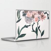 kpop Laptop & iPad Skins featuring Summer Flowers by Georgiana Paraschiv