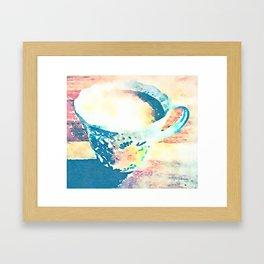 I Love Tea Design - Watercolour Style Framed Art Print