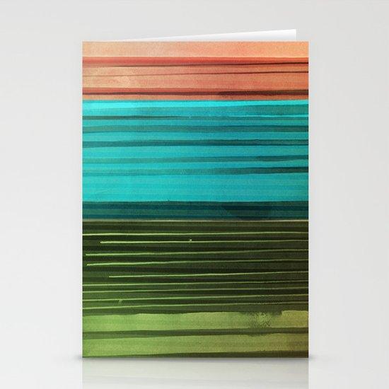 I Want Stripes Stationery Cards