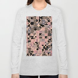 RAND PATTERNS #127: Procedural Art Long Sleeve T-shirt