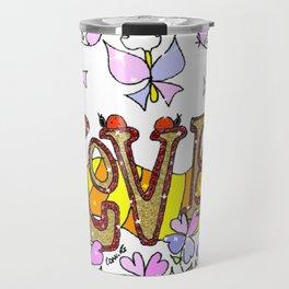 """""""Love"""" Travel Mug"""