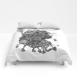 the wandering library 2 Comforters