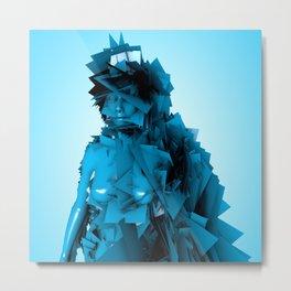 Blue Fairy Metal Print