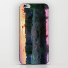 Monet Inspired Sunrise iPhone Skin