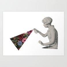 Flower Spray Art Print