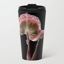 Mushrooms - Pink Parasols  Travel Mug