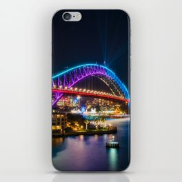 Bridging the gap: from the past and into the future iPhone Skin