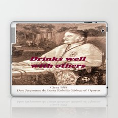 Drinks well with others Laptop & iPad Skin