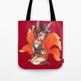 Foxfire Ahri Tote Bag
