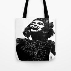 B&W Fashion Illustration - Part 1 Tote Bag