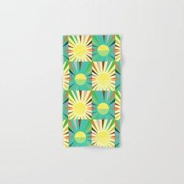Sunshine pattern Hand & Bath Towel